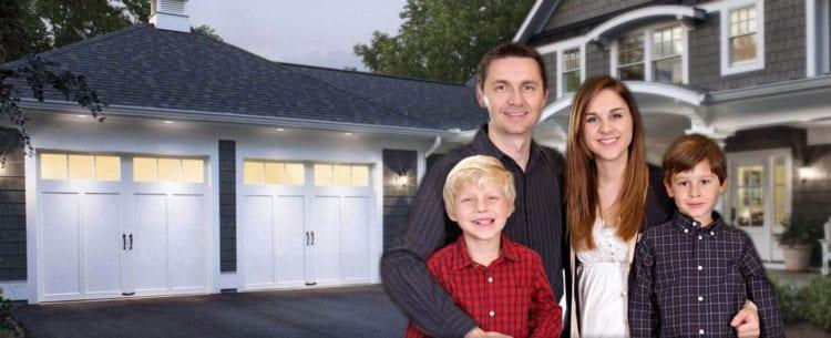 happy OGD™ Overhead Garage Door customers